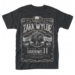 Tricou Zakk Wylde: Book of Shadows II