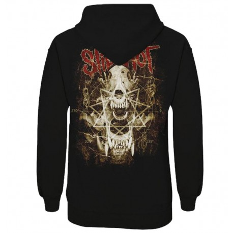 Hanorac fermoar Slipknot: Skull Teeth