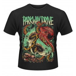 Parkway Drive: Sharktapuss (tricou)