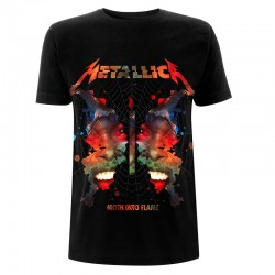 Metallica: Ink Moth Black (tricou)
