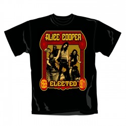 Tricou Alice Cooper: Elected Band