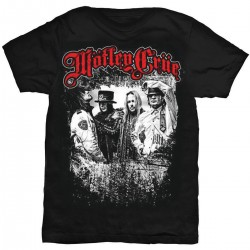 Motley Crue: Greatest Hits Band Shot (tricou)