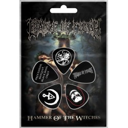 Cradle Of Filth: Hammer Of The Witches (set pene chitara - 5 buc.)