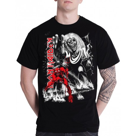 Tricou Iron Maiden: The Number of the Beast Jumbo