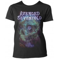 Tricou Dama Avenged Sevenfold: Space Face