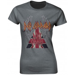 Tricou Dama Def Leppard: Rock Of Ages