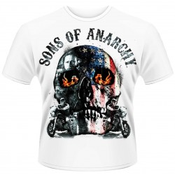 Sons Of Anarchy: Flame Skull (tricou)