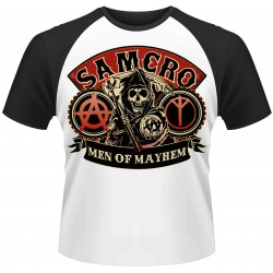 Sons Of Anarchy: Samcro Reaper (tricou raglan)