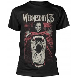 Wednesday 13: Spider Shovel (tricou)