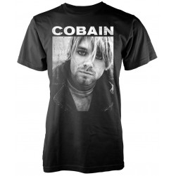 Kurt Cobain: B/W Photo (tricou)