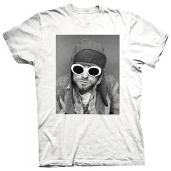 Kurt Cobain: Sunglasses Photo (tricou)