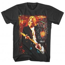 Kurt Cobain: You Know You're Right (tricou)