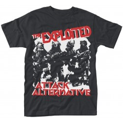 Tricou The Exploited: Attack