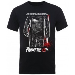 Friday The 13th: Bloody Poster (tricou)