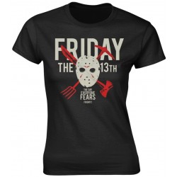 Friday The 13th: Day Of Fear (tricou dama)