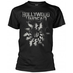 Tricou Hollywood Undead: Dove Grenade Spiral