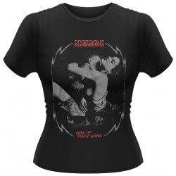 Scorpions: Love At First Sting (tricou dama)