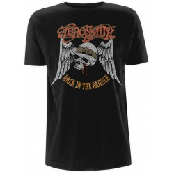 Tricou Aerosmith: Back in the Saddle
