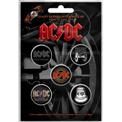 AC/DC: For Those About To Rock (set insigne - 5 buc.)