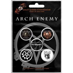 Arch Enemy: Will To Power (set insigne - 5 buc.)