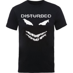 Tricou Disturbed: Scary Face Candle