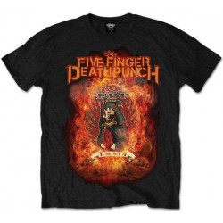 Five Finger Death Punch: Burn in Sin (tricou)