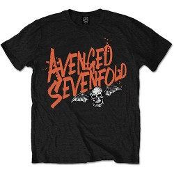 Avenged Sevenfold: Orange Splatter (tricou)