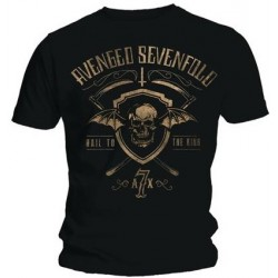Avenged Sevenfold: Shield & Sickle (tricou)