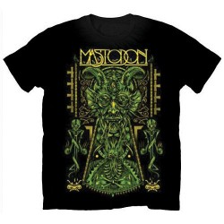Mastodon: Devil on Black (tricou)