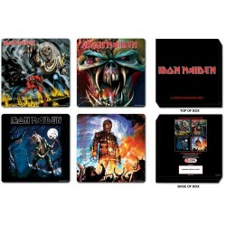 Set suporturi pahare Iron Maiden