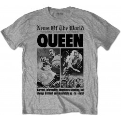 Tricou Queen: News of the World 40th Front Page