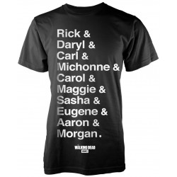 The Walking Dead: Names (tricou)