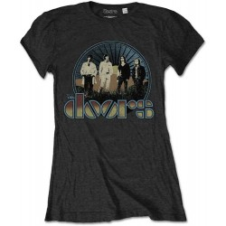 Tricou fete The Doors: Vintage Field