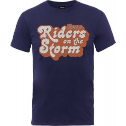 Tricou The Doors: Riders On The Storm Logo