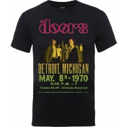 Tricou The Doors: Gradient Show Poster