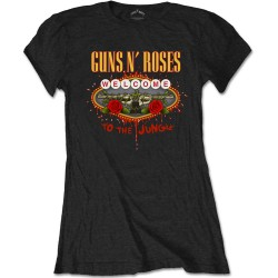 Guns N' Roses: Welcome to the Jungle (tricou dama)