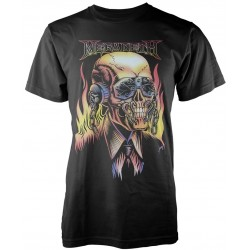 Tricou Megadeth: Flaming Vic