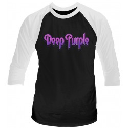 Deep Purple: Logo (tricou maneca 3/4)