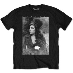 Amy Winehouse: Flower Portrait (tricou)