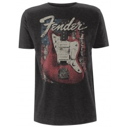 Fender: Distressed Guitar Jazzmaster (tricou)