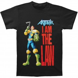 Tricou Anthrax: I Am The Law