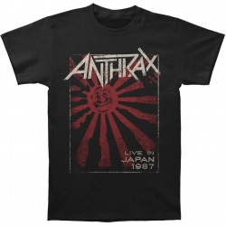 Tricou Anthrax: Live In Japan
