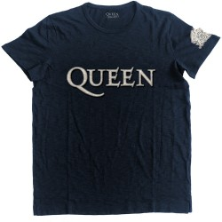 Queen: Logo & Crest (tricou cu patch)