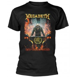 Tricou Megadeth: New World Order
