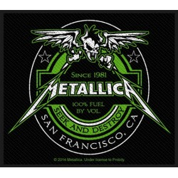 Patch Metallica: Beer Label
