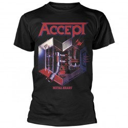 Tricou Accept: Metal Heart 1