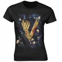 Tricou Dama Vikings: Fight