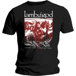 Tricou Lamb Of God: Enough is Enough