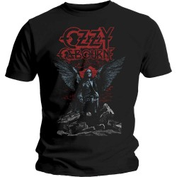 Tricou Ozzy Osbourne: Angel Wings