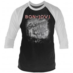 Tricou Maneca 3/4 Bon Jovi: Slippery When Wet